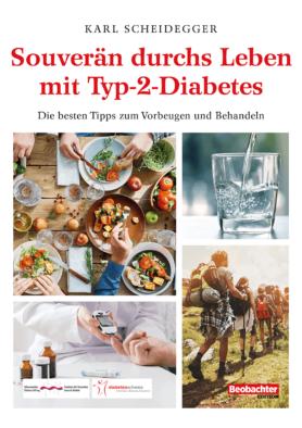 Buch Souverän durchs Leben mit Diabetes