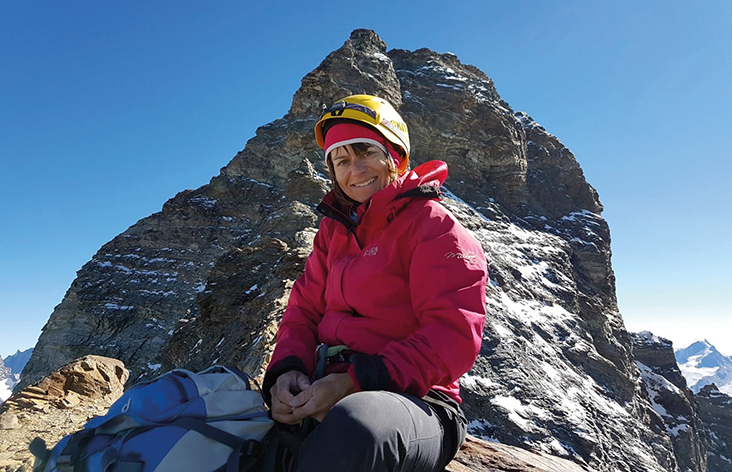 Auf dem Weg zum Matterhorngipfel