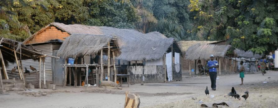 Das Dorf Lugala in Tansania
