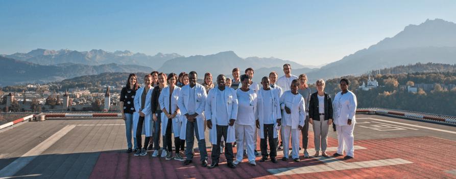 Gruppe aller Beteiligten in Luzern
