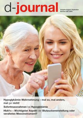 Titelseite Enkelin und Grossmutter mit Smartphone