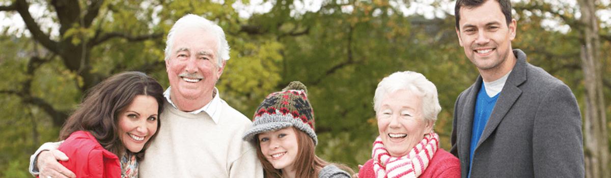 Familie drei Generationen