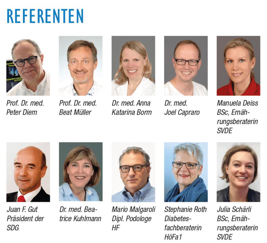 Diabetikertag 2017 Alle Referenten