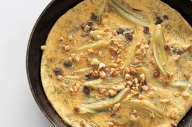 Rezept Fenchelomelette mit Sultaninen und Nuessen