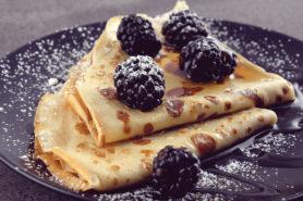 Rezept Für Eine Person Omelette Mit Brombeeren