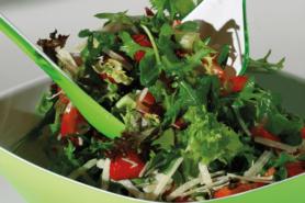 Rezept Gruener Salat Mit Fruechten