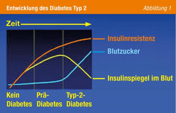 Tabelle Entwicklung Des Diabetes Typ 2