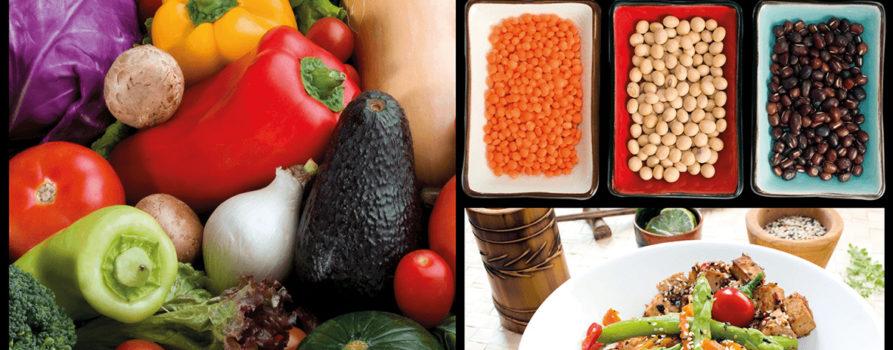 Vegane und vegetarische Lebensmittel