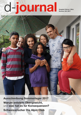Junge Teilnehmer am DiaLager 2016