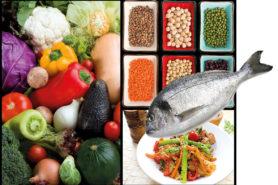 Mittelmeerdiät: Gemüse, Hülsenfrüchte, Fisch