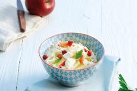 Rezept Kabissalat Mit Apfel Und Granatapfel