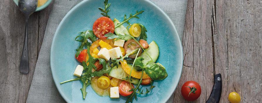 Rezept Salat Mit Gruyere AOP