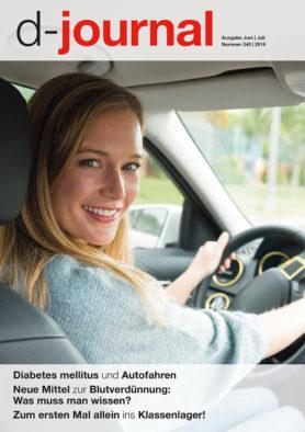 Titelbild Frau beim autofahren