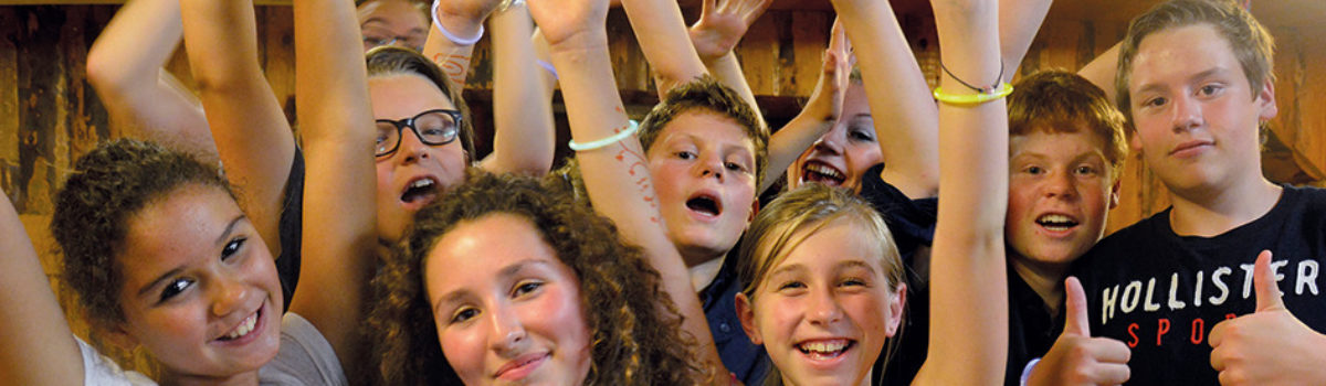 Junge Teilnehmer des Dialagers Bern