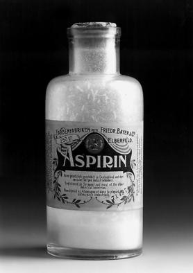 Aspirinflasche aus dem Jahr 1899