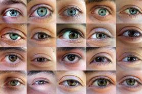 Verschiedene Augen