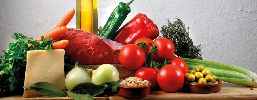 Mediterrane Lebensmittel