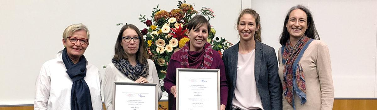 Gewinnerinnen des Prix Servier 2018