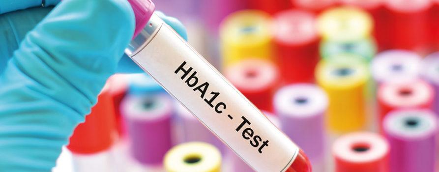 HbA1c-Teströhrchen
