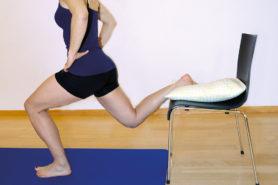 Übung für Kraft Beine Und Gesaess
