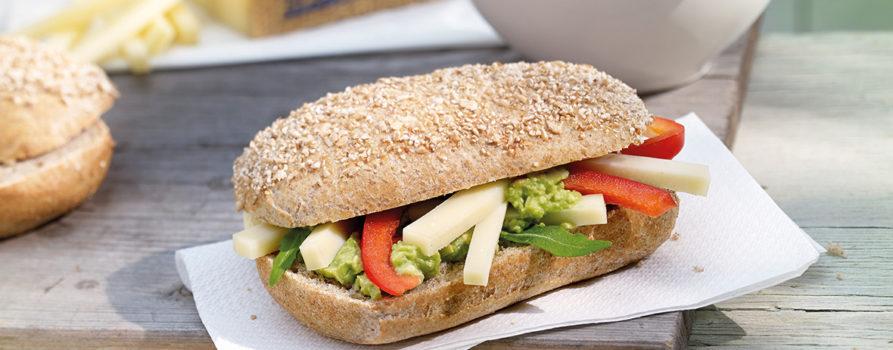 Rezept Avocado Gruyère AOP Broetchen