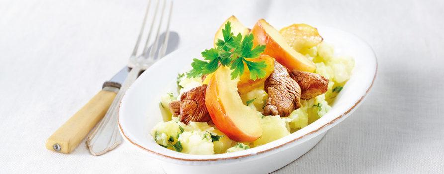 Balsamico Poulet mit Sellerie-Kartoffelstampf