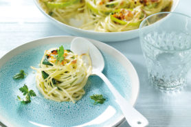 Rezept Spaghetti Lauchnester