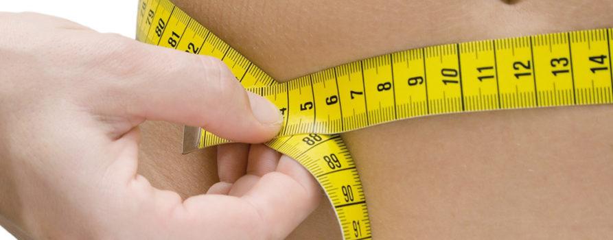 Bauchumfang mit Massband messen