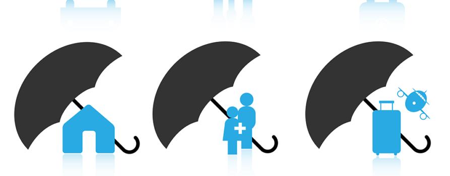 Icons verschiedener Versicherungen