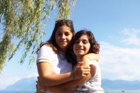 Oriane und Eleonor im Sommer 2018
