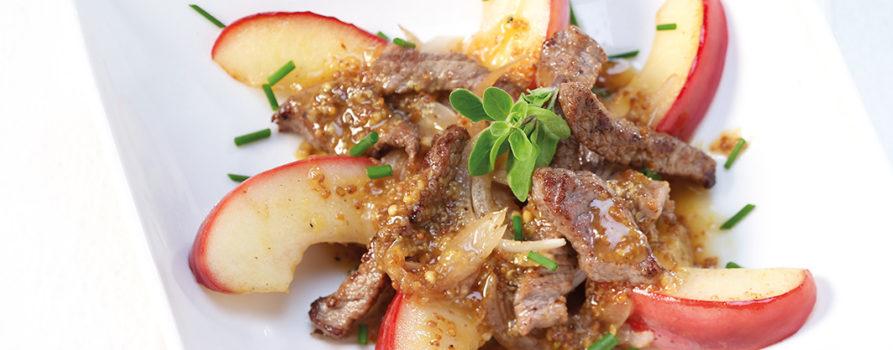 Rezept Rindsgeschnetzeltes Mit Birnelsauce