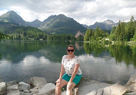 Ludmila am Štrbské Pleso (deutsch Tschirmer See