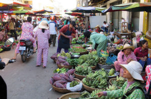 Kambodscha Markt