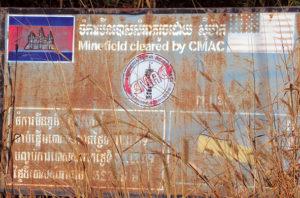 Kambodscha Warntafel