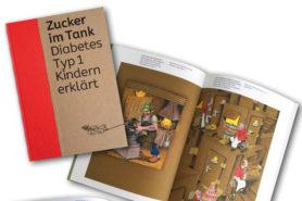 Buch: Zucker im Tank – Diabetes Typ 1 Kindern erklärt